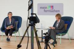 Dr. Frauke Gerlach und Prof. Christiane Eilders